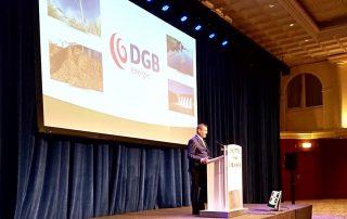 succesvolle presentatie door dgb directeur bij beursgenoten symposium Noordwijk
