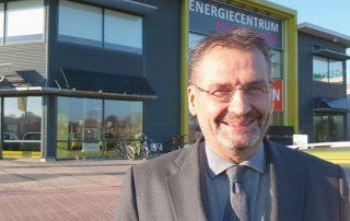 Directeur Mark Logtenberg voor Energiecentrum Hardenberg