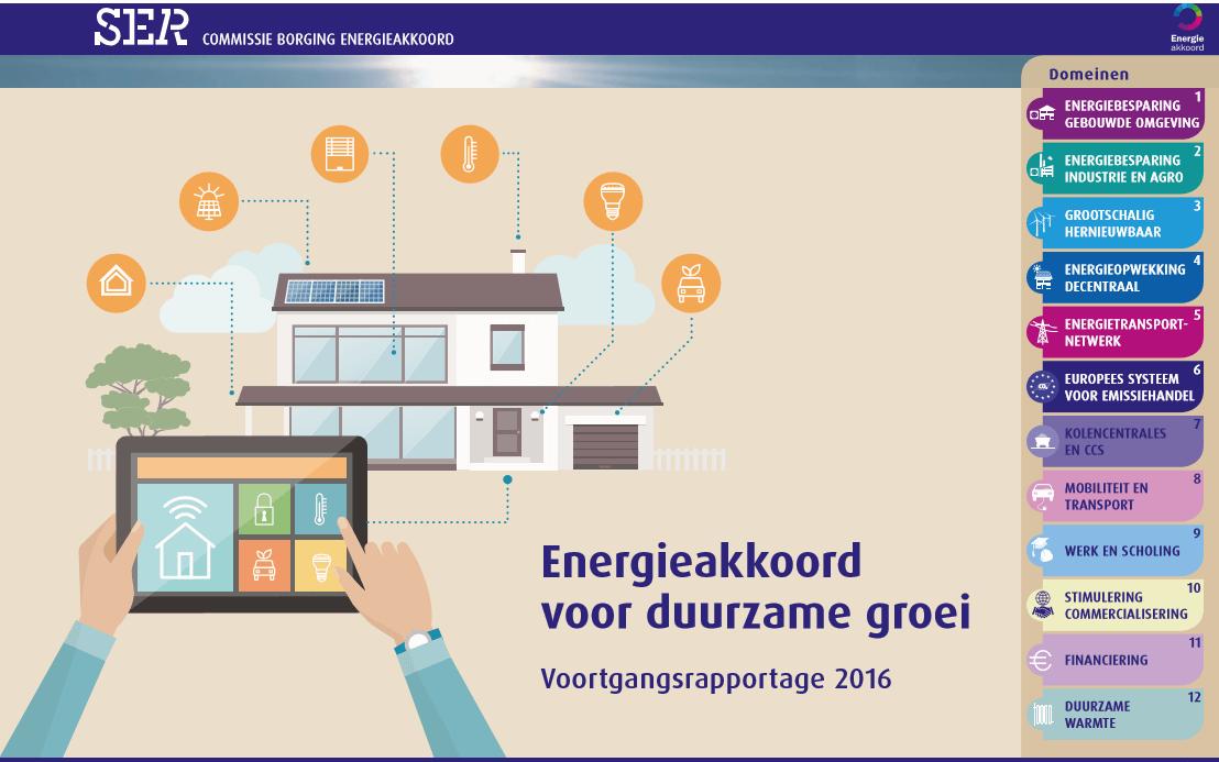 Energieakkoord vastgesteld door overheid