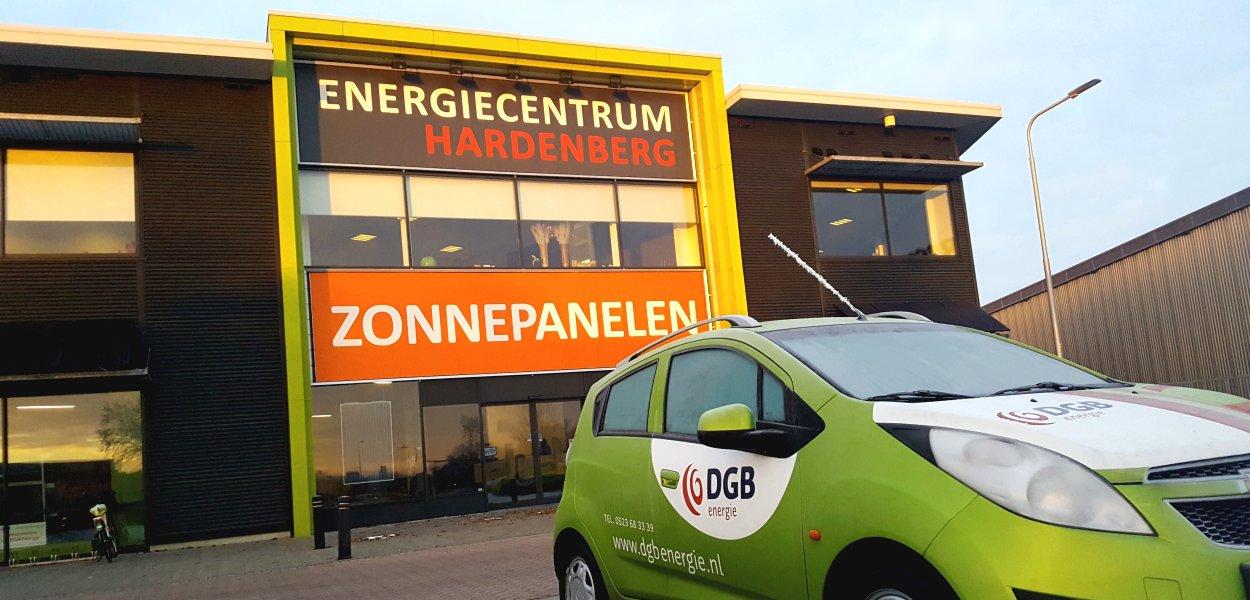 zonnepanelen kopen via DGB Energie bij Energiecentrum Hardenberg