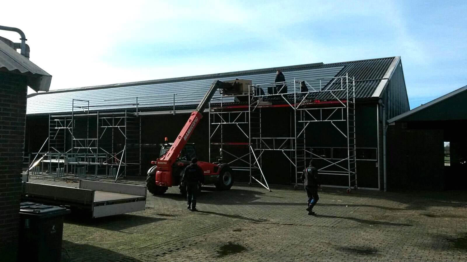 Installatie zonnepanelen door ESN
