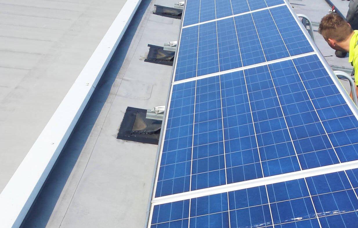 duurzaam ondernemen zonnepanelen polykristallijn